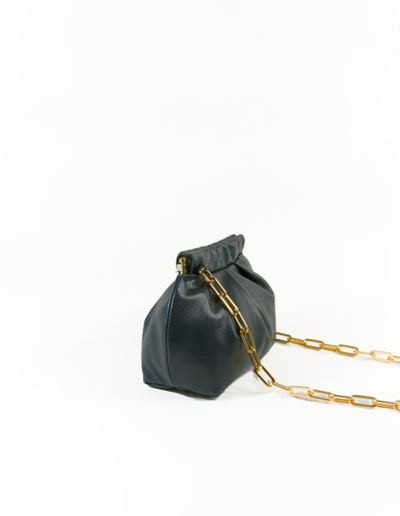 Sac Mini Coco vert foncé | Atelier Farny
